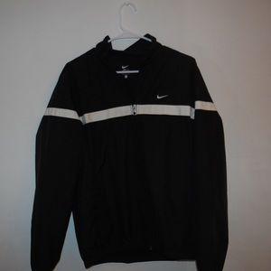 Vintage Black Nike Windbreaker